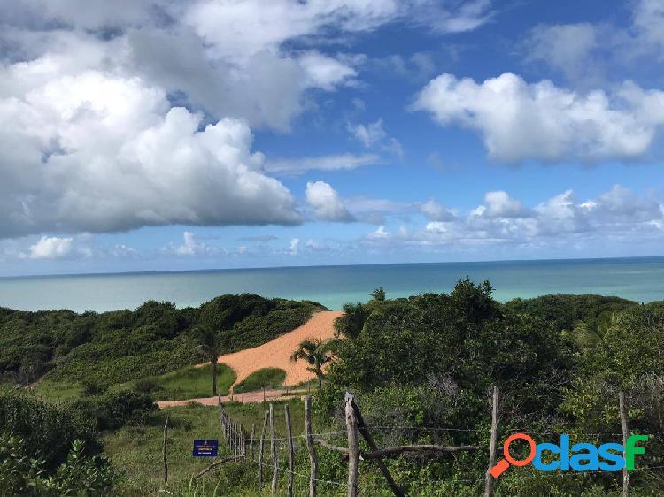 Terreno único, vista mar, local paradisiaco!