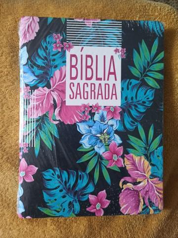 Bíblia slim letra grande e tamanho grande- naa