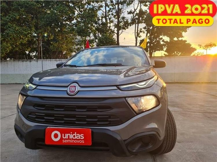 Fiat toro 1.8 evo endurance cinza 2019/2020 - são paulo