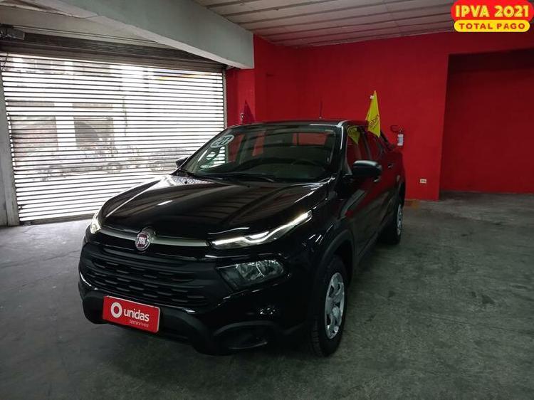 Fiat toro 1.8 evo endurance preto 2020/2020 - são paulo