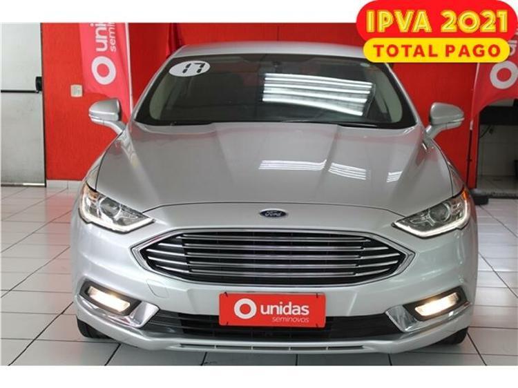 Ford fusion 2.0 sel 16v prata 2016/2017 - são paulo 1484902