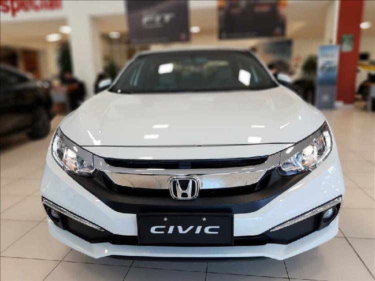 Honda civic 2.0 ex branco 2021/2021 - campinas 1484324