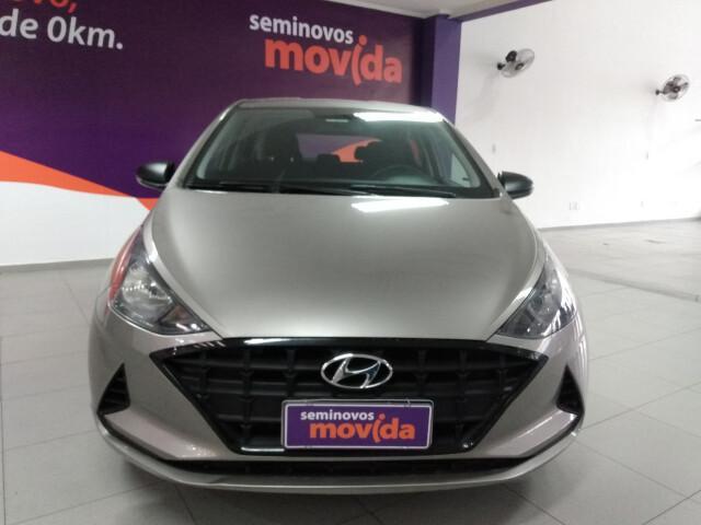 Hyundai hb20 1.0 12v sense prata 2020/2020 - são paulo