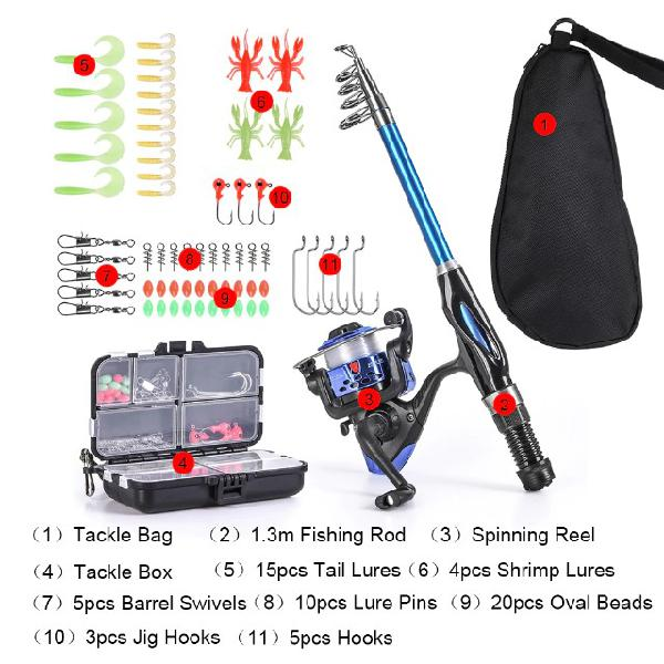 Kit pesca completo para sua pescaria promoção