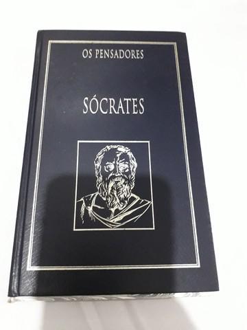 Livro coleção pensadores sócrates