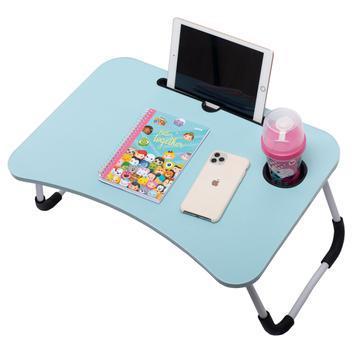 Mesa portátil dobrável p/ notebook cama home office