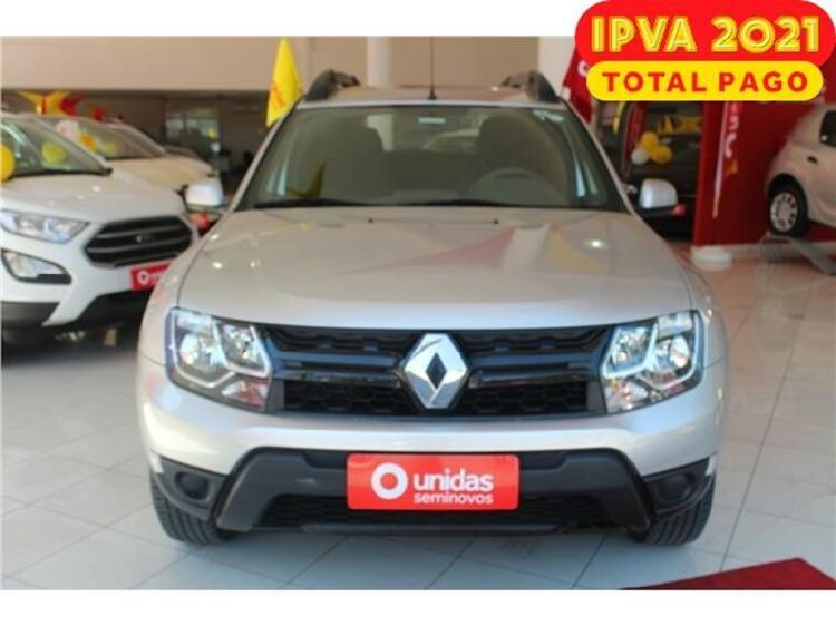 Renault duster 1.6 expression prata 2019/2020 - são paulo