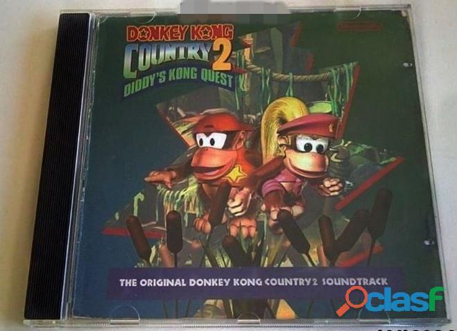 Cd Trilha Sonora Donkey Kong Country 2 (leia Descrição)