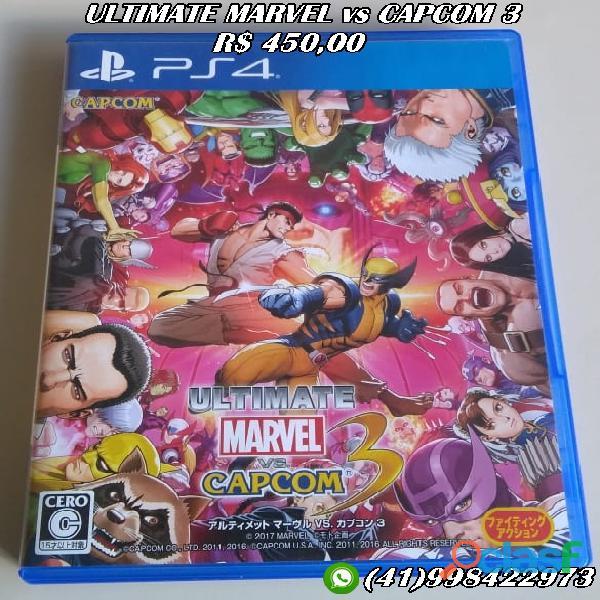 Ultimate Marvel Vs Capcom 3 Ps4 (fisica) Leia Descrição