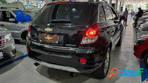 Chevrolet captiva sport awd 3.0 v6 24v 268cv preto 2011 3.0 gasolina