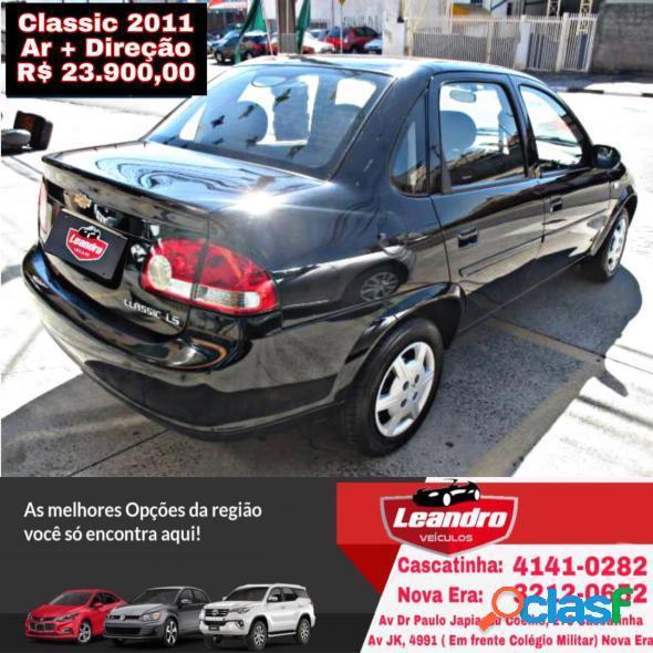 Chevrolet classic lifels 1.0 vhc flexp. 4p preto 2011 1.0 flex