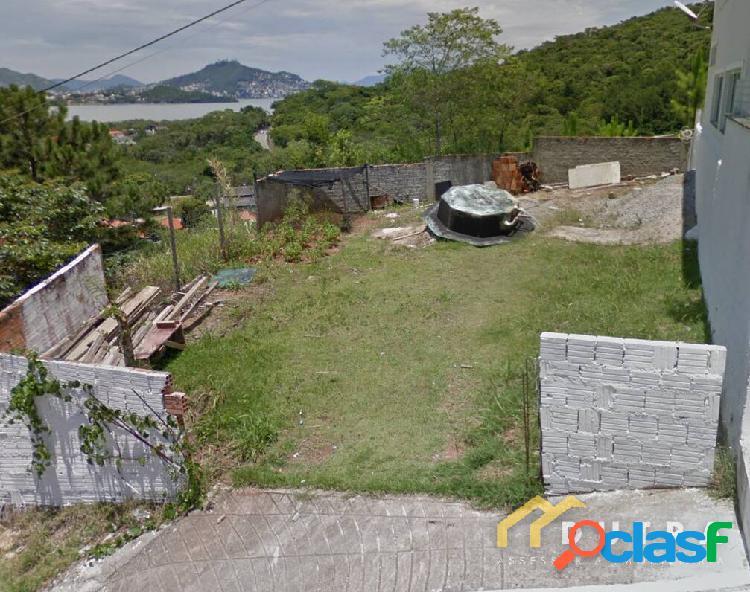 Terreno com vista para o mar no bairro saco grande em florianópolis