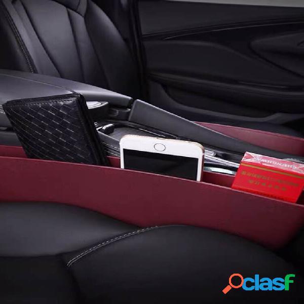 Suprimentos para carro assento para carro tridimensional clip gap storage armazenamento multifuncional bolsa
