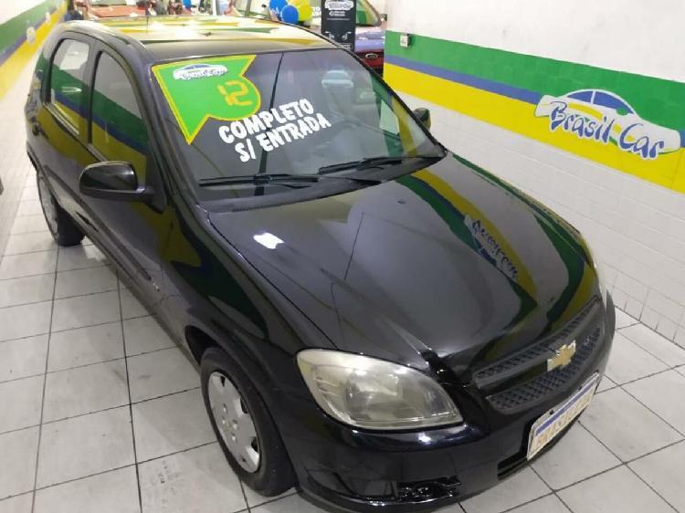 Chevrolet celta 1.0 lt 8v preto 2011/2012 - são paulo