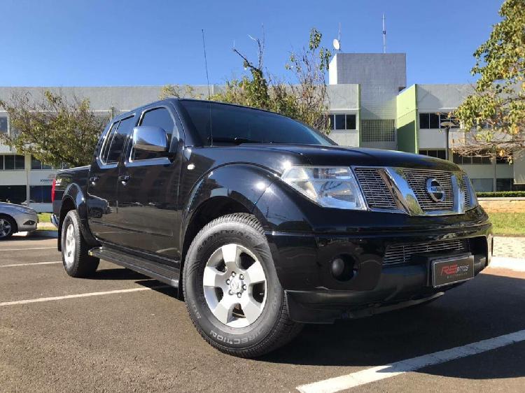Nissan frontier 2.5 sel preto 2008/2008 - aparecida de