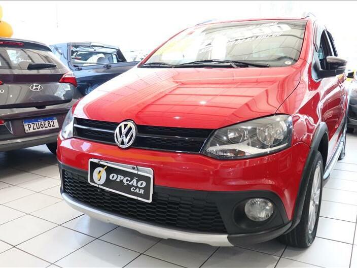 Volkswagen crossfox 1.6 vermelho 2010/2011 - são paulo