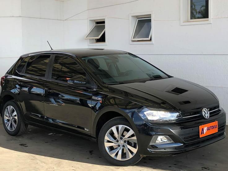 Volkswagen polo hatch 1.0 200 tsi comfortline preto