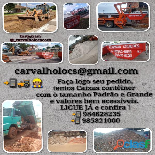 Retirada de Entulho / Carvalho Locações