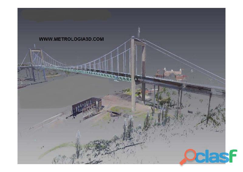 Scanner 3D de Ambientes Galpões Engenharia Civil Maquinas Industriais