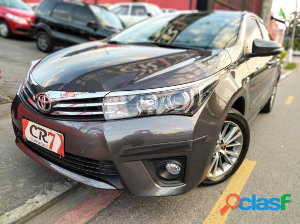 Toyota corolla altis 2.0 flex 16v aut. cinza 2016 2.0 flex