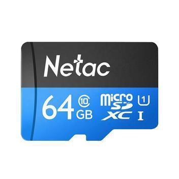 Cartão memória microsd 64gb 80mb/s netac - armazenamento -