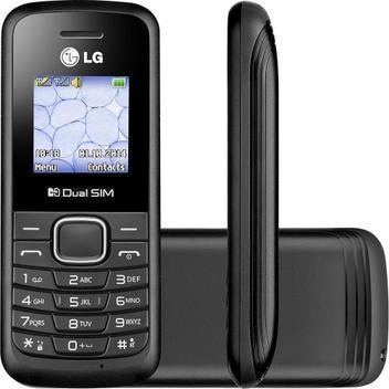 Celular Dual Chip LG B220 32MB 2G Rádio FM - Celular