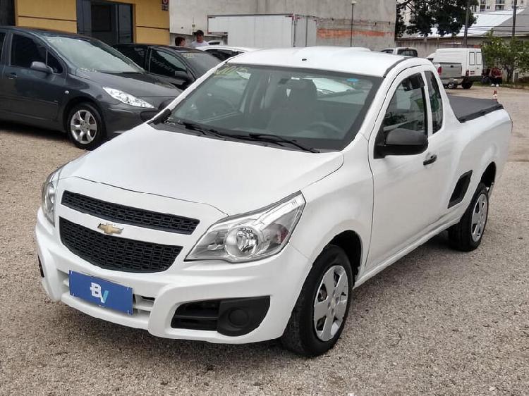 Chevrolet montana 1.4 ls 8v branco 2014/2015 - curitiba