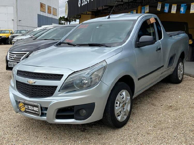 Chevrolet montana 1.4 ls 8v prata 2012/2013 - curitiba