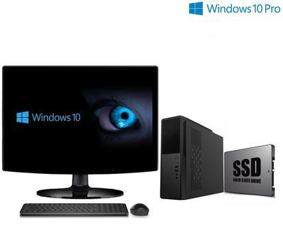Computador empresarial com windows 10 pro ssd processador