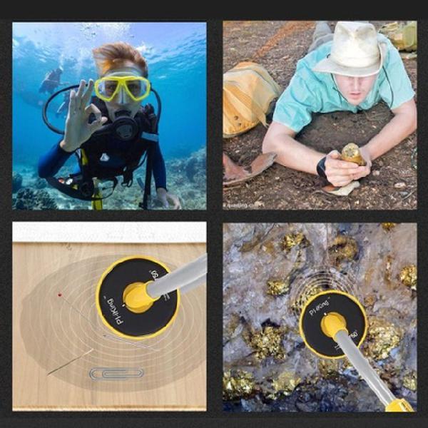 Detector de metais sub-aquatico pi-iking novo!