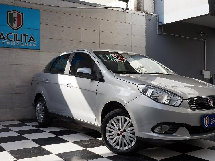 Fiat grand siena 1.4 attractive 8v prata 2017/2018 - são