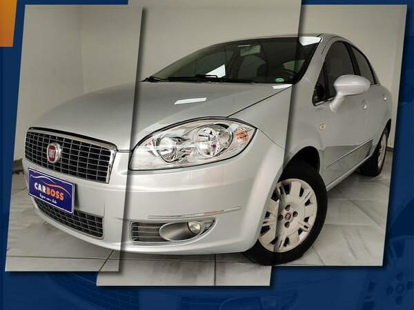 Fiat linea 1.8 lx 16v prata 2010/2011 - são josé dos