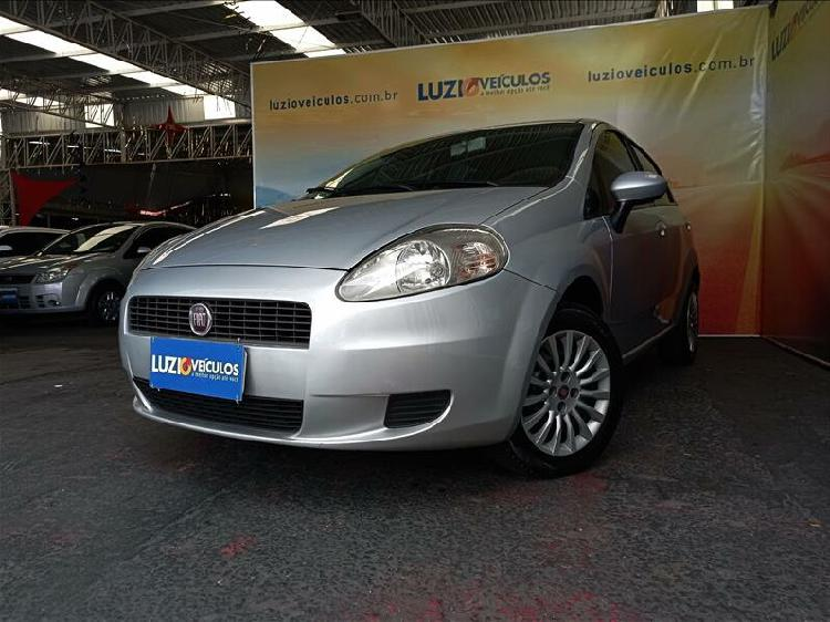 Fiat punto 1.4 attractive 8v prata 2012/2012 - campinas