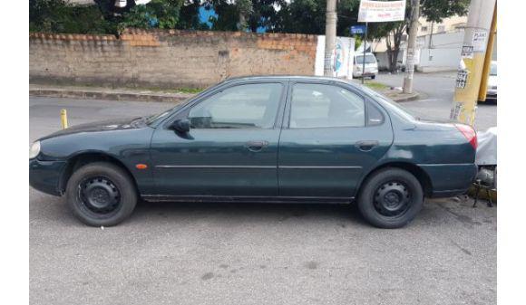 Ford mondeo sedan 2.0 mondeo clx 2.0i 4p mec 97/97 verde