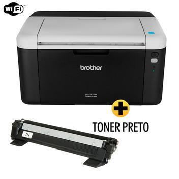 Impressora brother laser hl1212w wireless + toner 1060