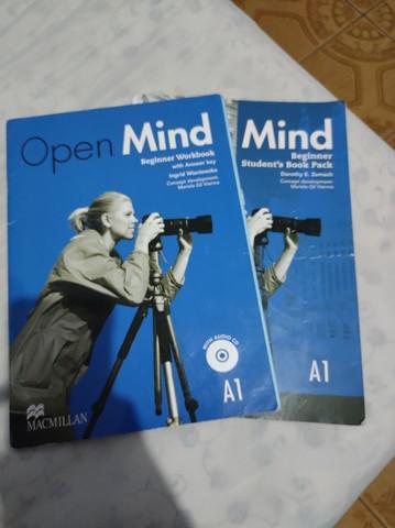 Livro open mind cultura inglesa
