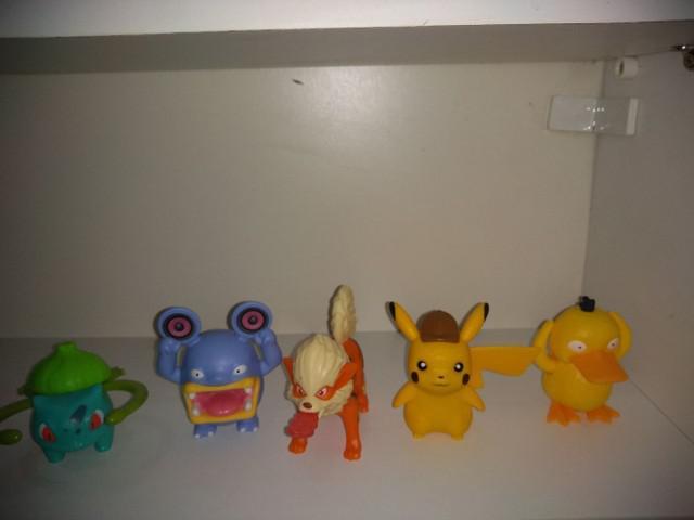 Pokémons do filme detetive pikachu.