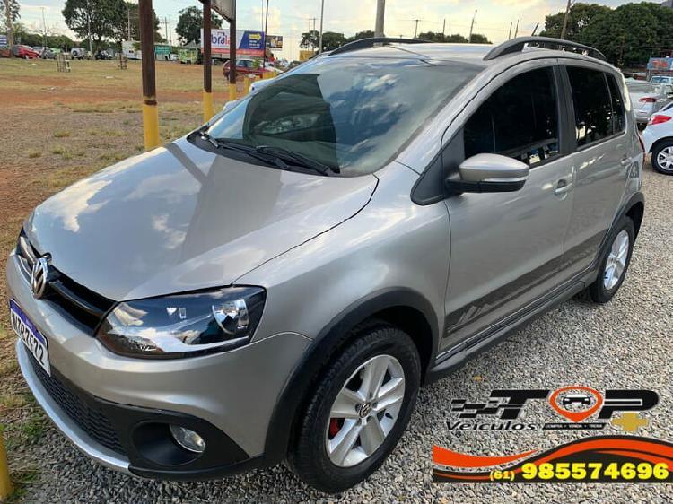 Volkswagen crossfox 1.6 prata 2011/2011 - brasília 1490380
