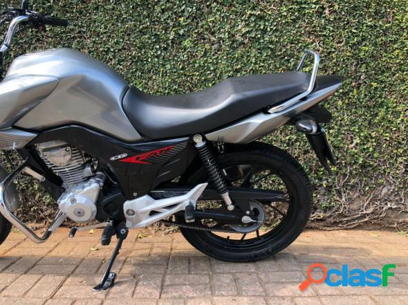 Honda cg 160 fan flex prata 2020 160 flex