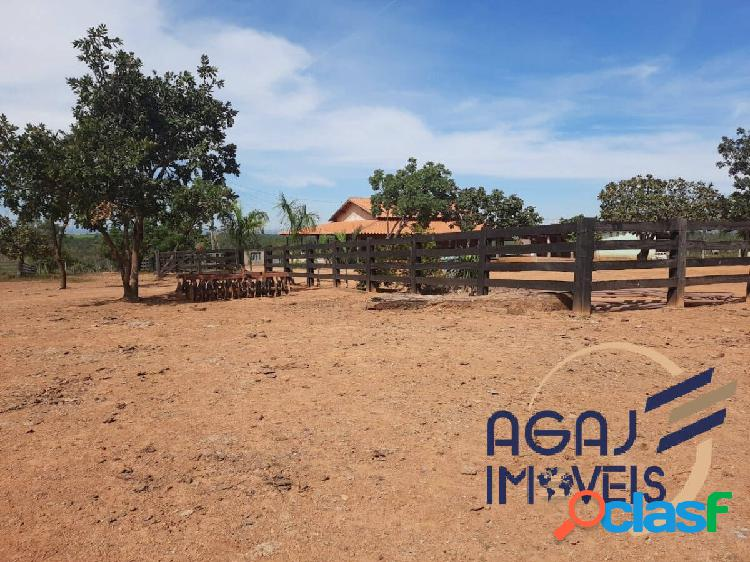 Fazenda em padre bernardo-go | 55 alqueires | dupla aptidão