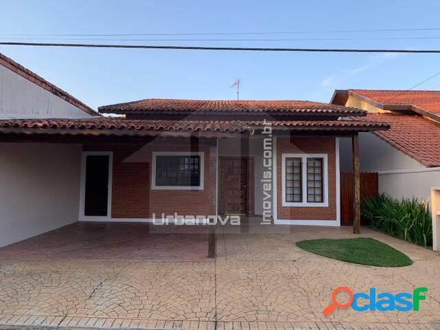 Casa térrea para locação, condomínio eldorado, 3 dormitórios, 150 m² a.c