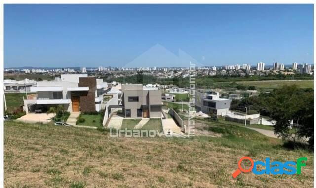 Terreno em aclive à venda condomínio reserva do parathey, 900 m²