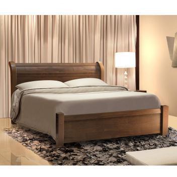 Cama casal madri espresso móveis canion - cama de casal -