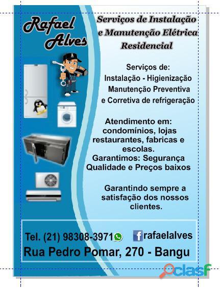 Elétricista e refrigeração