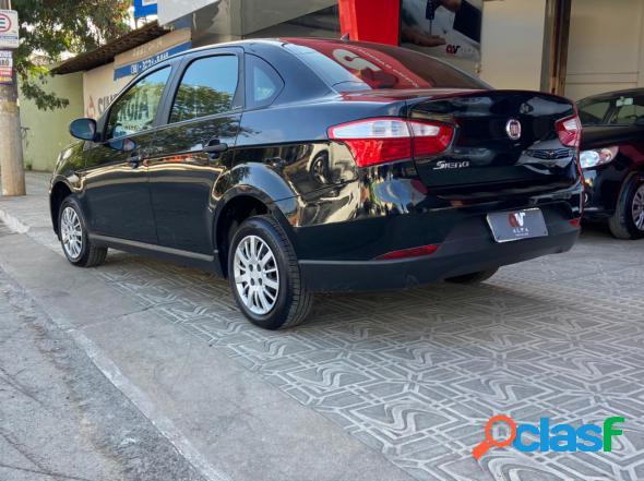 Fiat grand siena attractive 1.0 flex 8v 4p preto 2018 1.0 flex