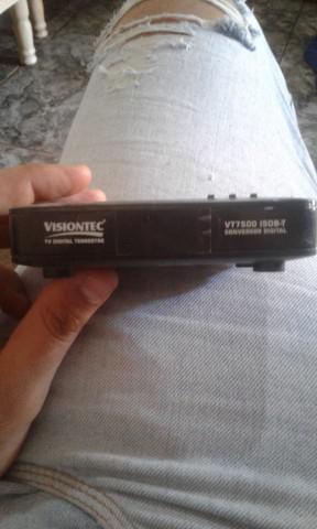 Conversor digital mais antena portátil