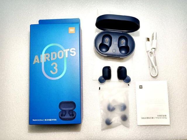 Fone de ouvido sem fio, redmi airdots 3 lançamento