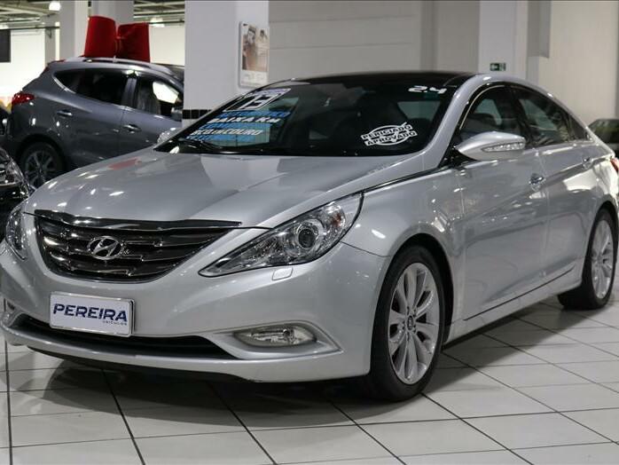 Hyundai sonata 2.4 16v prata 2012/2013 - são paulo 1493270