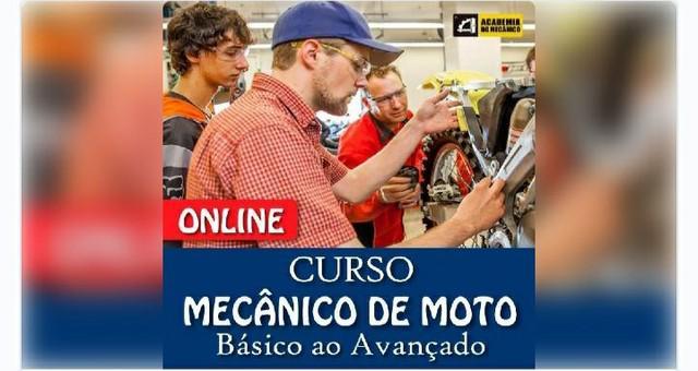 Já pensou em ser um mecânico de moto?