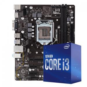 Kit upgrade biostar h410mh ver 6.0 + intel core i3 10100f